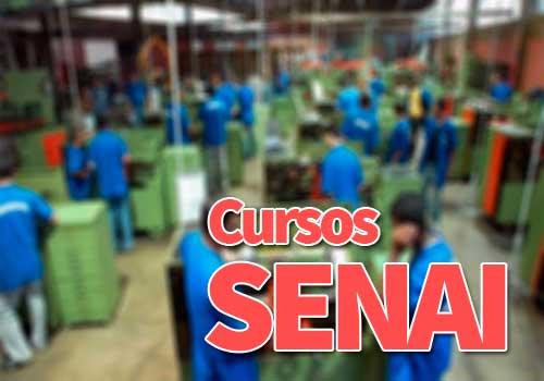 Cursos SENAI 2019