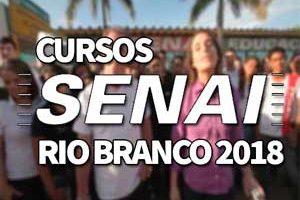 Cursos SENAI Rio Branco