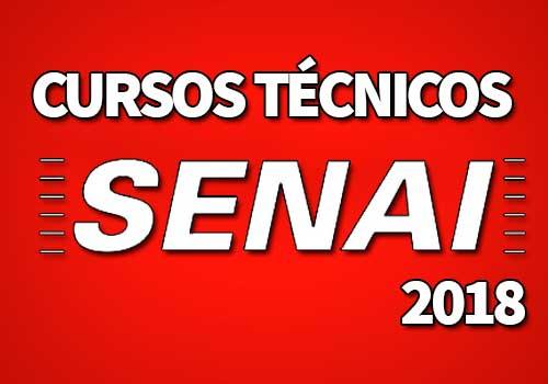 Cursos Técnicos SENAI 2019