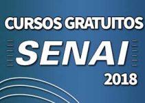 Cursos gratuitos SENAI 2018