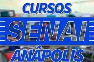 Cursos SENAI Anápolis 2018