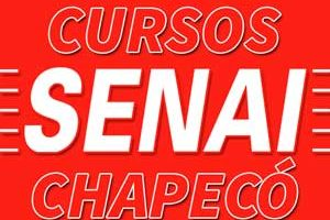 Cursos SENAI Chapecó 2018