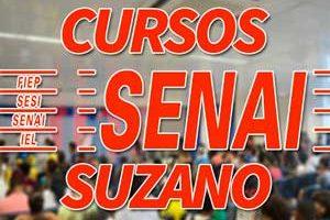 Cursos SENAI Suzano 2018
