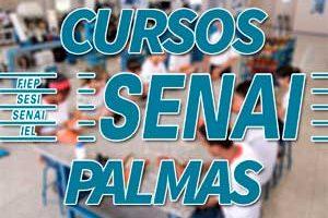 Cursos SENAI Palmas 2018