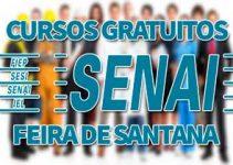 Cursos Gratuitos SENAI Feira de Santana 2018