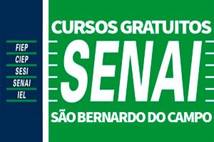 Cursos Gratuitos SENAI São Bernardo do Campo 2018