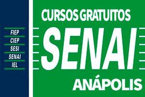 Cursos Gratuitos SENAI Anápolis 2018