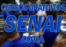 Cursos Gratuitos SENAI Cotia 2018