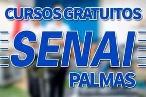 Cursos Gratuitos SENAI Palmas 2018