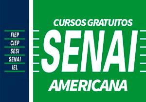 Cursos Gratuitos SENAI Americana 2018