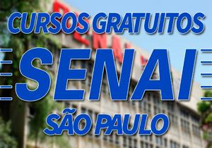 Cursos Gratuitos SENAI São Paulo 2018