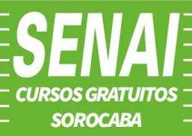 Cursos Gratuitos SENAI Sorocaba 2018