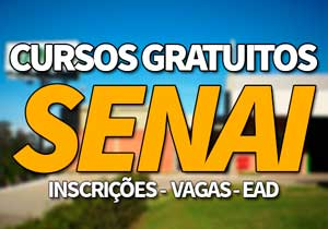 Cursos Gratuitos SENAI 2019