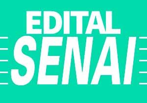 Edital SENAI 2019