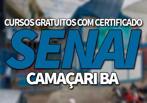 SENAI Camaçari Cursos Gratuitos 2019
